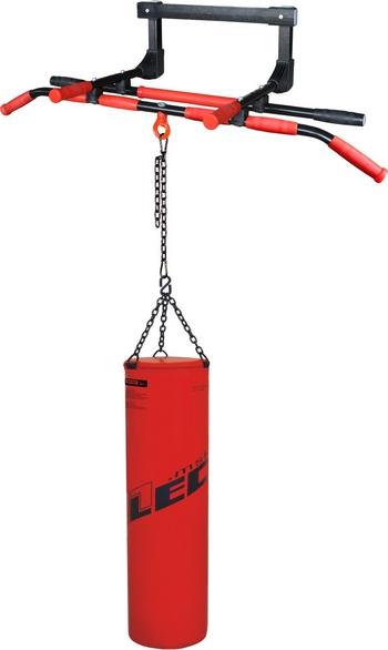 образец применения с мешком боксерским (гп29) , подвешенным на регулировочную систему для подвески мешков (гп1-510)